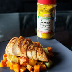one pot chicken and vegetable roast printer friendly