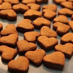 Mini Chocolate Shortbread Hearts