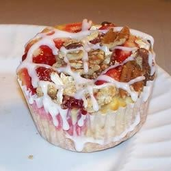 Mini Cherry Coffee Cake