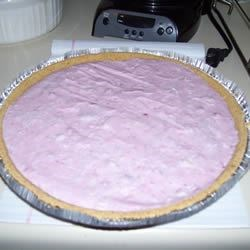 Cassie's Frozen Cranberry Pie Recipe
