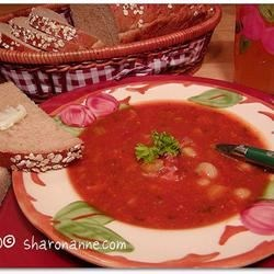 Mom's BEST Ham & Bean Soup Recipe