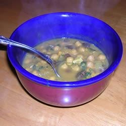 Delicious Chickpea Curry |
