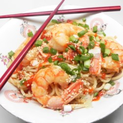 Asian-Style Shrimp Scampi