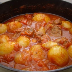 beef stifado in the slow cooker printer friendly