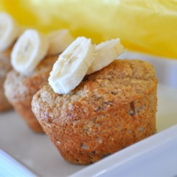 Whole Grain Banana Muffins Recipe