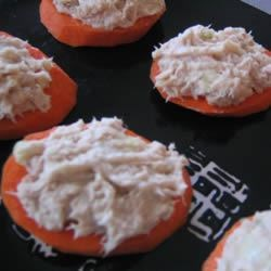Carrot and Tuna Bites