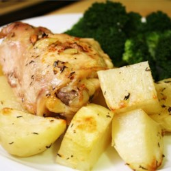 Lebanese recipes allrecipes lebanese chicken and potatoes forumfinder Image collections