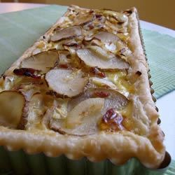 Bacon, Potato and Cheese Tart