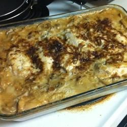 Baked Chicken on Rice Recipe