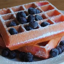 Holiday Waffles Recipe