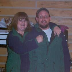 My husband and  I on vacation!