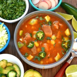 Instant Pot(R) Red Posole