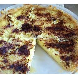 Custard Pie II Recipe