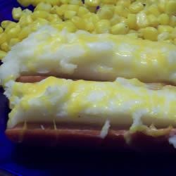 Hot Dog a la Potato