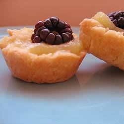 lemon blackberry tarts
