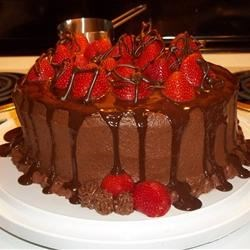 Chocolate Strawberry Celebration Cake photo by jacks.mom - Allrecipes ...