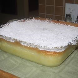 Lemon Custard Pudding Cake