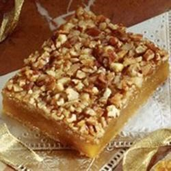 Photo of Pecan Pie Surprise Bars by Glenda