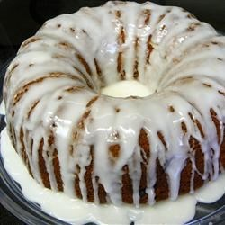 Fuzzy Navel Cake I Recipe