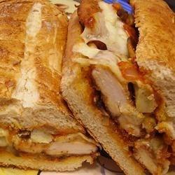 Photo of Chicken, Artichoke Heart, and Parmesan Sandwiches by eyeamfresh