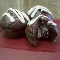 Photo of Chocolate Cream-Filled Cupcakes with Fudge Icing by sphinxriddle