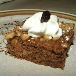 Applesauce Raisin Bars Recipe