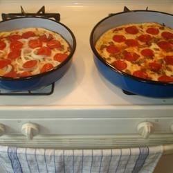 Deep Suzie pizzas