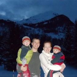 Our Family - Piancavallo, Italy - November '10
