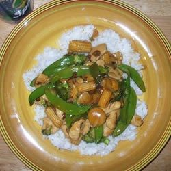 Image of Almond Chicken Stir-Fry, AllRecipes