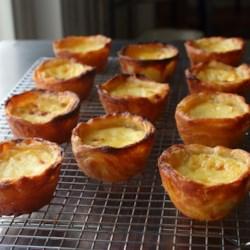 portuguese custard tarts pasteis de nata printer friendly