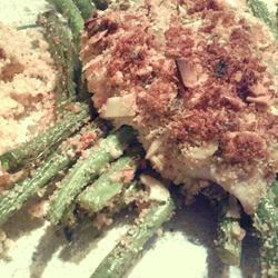 Photo of Skillet-Roasted Tilapia with Green Beans by Manders