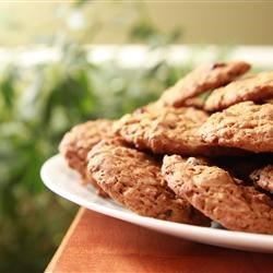 Photo of WWII Oatmeal Molasses Cookies by Diana S.