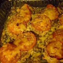 Tomato Parsley Garlic Chicken