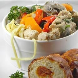 Photo of Lime Chicken and Mushroom Pasta by Sherry Hammond