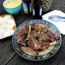 Braised Hoisin-Beer Beef Short Ribs