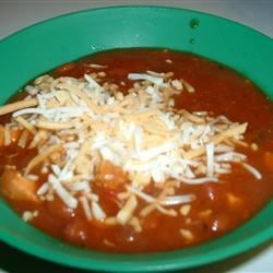 Super Easy Chicken Chili