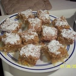 Photo of Apricot-Coconut Squares by Jo Whattam