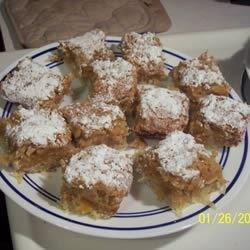 Apricot-Coconut Squares Recipe