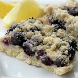 Photo of Blueberry-Lemon Crumb Bars by KIRKFAMILY