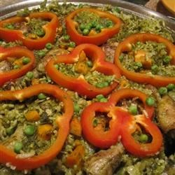 Peruvian Arroz con Pollo Recipe