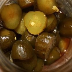 Texas Christmas Pickles Recipe