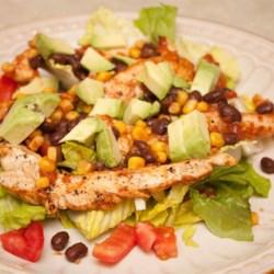 chicken fiesta salad printer friendly
