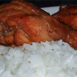 Adobo Chicken with Ginger Recipe