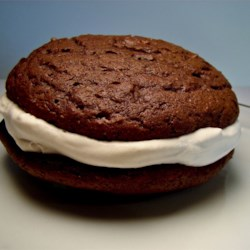 Whoopie Pie with Coffee Cream Filling