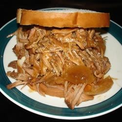 Photo of Barbecued Shredded Beef by j.d.