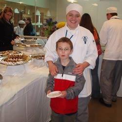 Christian and I at my baking banquet at school