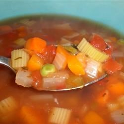 Vegetable Salsa Soup Recipe