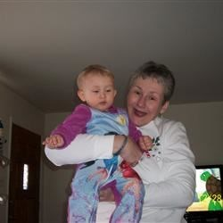 Me & granddaughter Evelyn