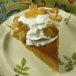 Easy Maple Pumpkin Pie