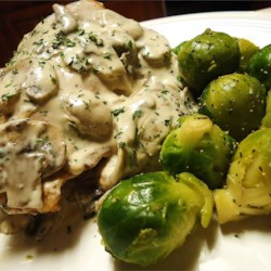 Mushroom and Swiss Chicken Recipe